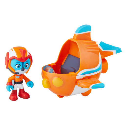 Top Wing Swift's Flash Wing and Figure