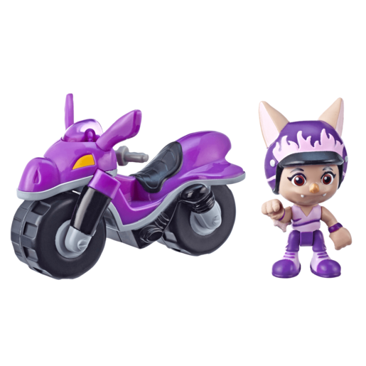 Top Wing Betty McBat's Dirt Bike and Figure