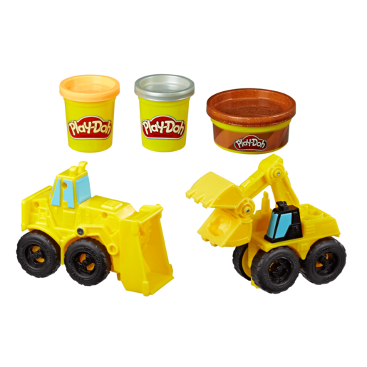 Play-Doh Wheels - Excavator and Loader Set