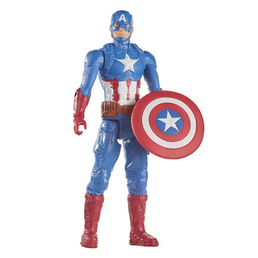 Marvel Avengers Endgame Blast Gear: Titan Hero Series 30cm Figure - Captain America