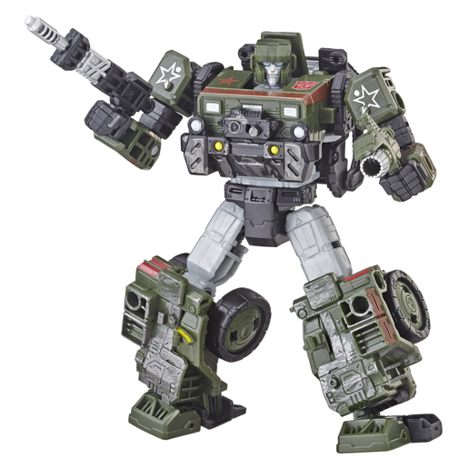 Transformers Generations War for Cybertron: Siege Deluxe Figure - Autobot Hound