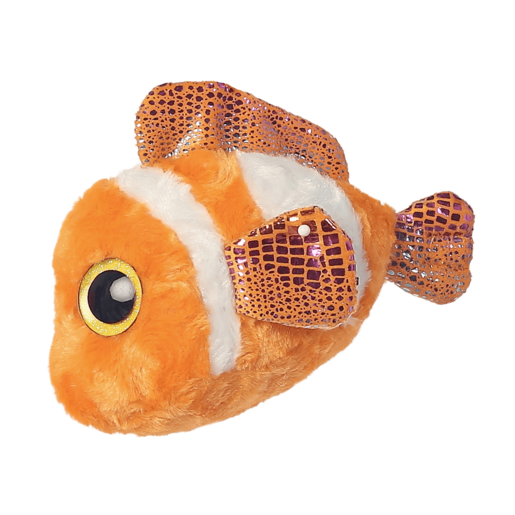 Clownee Clown Fish 20cm Soft Toy