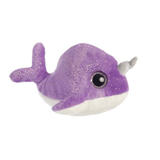 Naree Narwhal 20cm Soft Toy