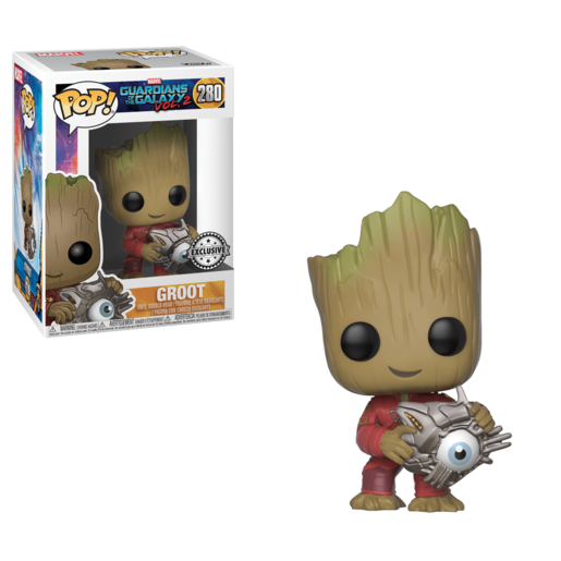 Funko Pop! Marvel: Guardians of the Galaxy 2 -  Groot