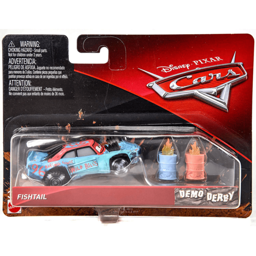 Disney Cars 3 Demo Derby - Fishtail