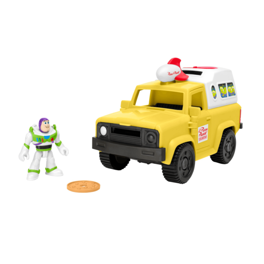 Fisher-Price Imaginext Disney Pixar Toy Story - Buzz Lightyear and Pizza Planet Truck