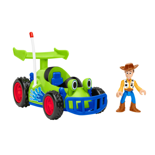Fisher-Price Imaginext Disney Pixar Toy Story - Woody and Racing Car