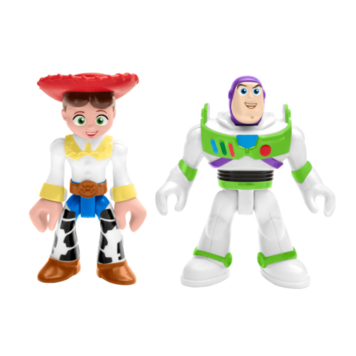 Fisher-Price Imaginext Disney Pixar Toy Story Figures - Buzz Lightyear and Jessie
