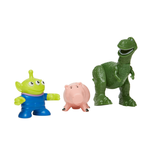 Fisher-Price Imaginext Disney Pixar Toy Story Figures - Rex, Hamm and Alien