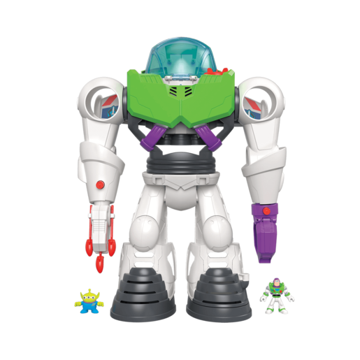 Fisher-Price Imaginext Disney Pixar Toy Story 4 - Buzz Lightyear Robot