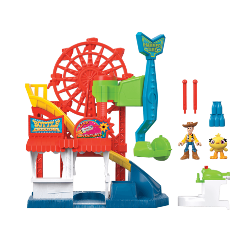 Fisher-Price Imaginext Disney Pixar Toy Story 4 - Carnival Playset