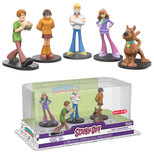 Funko Pop! Hero World: Scooby Doo - 5 Pack Scooby Gang