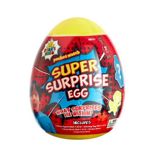 Ryan's World Super Surprise Eggs