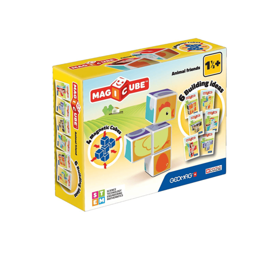 Geomag Magicube Animal Friends Building Set