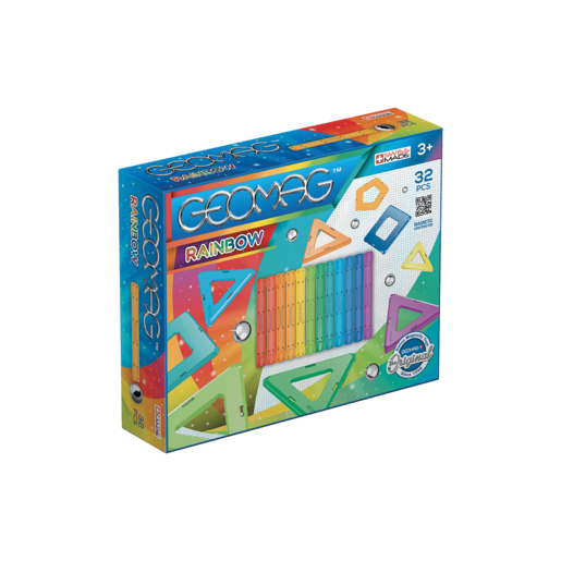 Geomag Rainbow Construction Set -  32pc