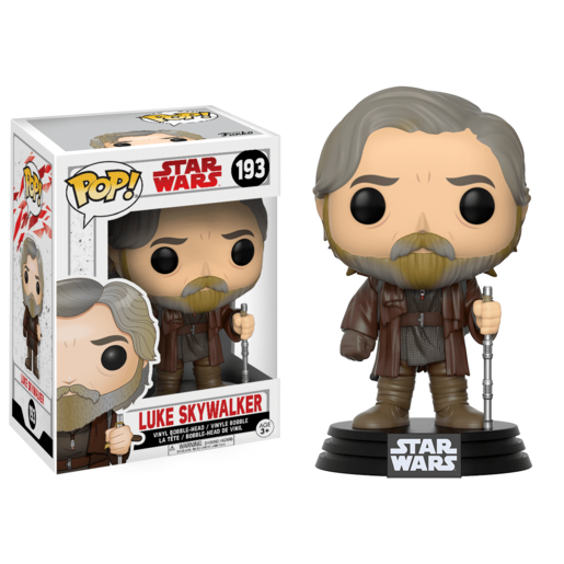 Funko Pop! Movies: Star Wars The Last Jedi - Luke Skywalker
