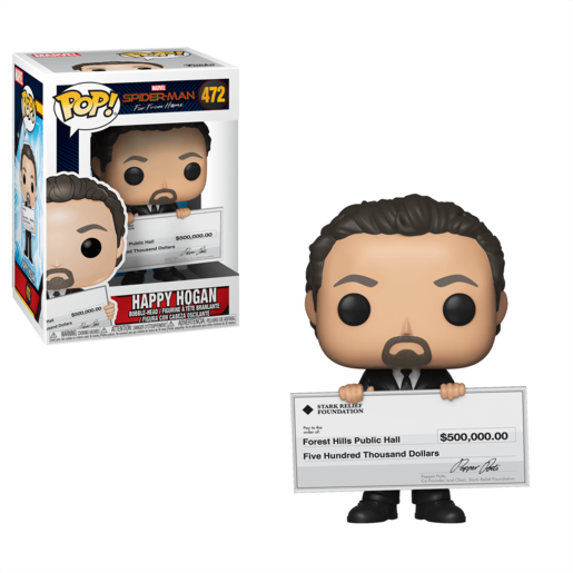Funko Pop! Marvel: Spider-Man Far From Home - Happy Hogan