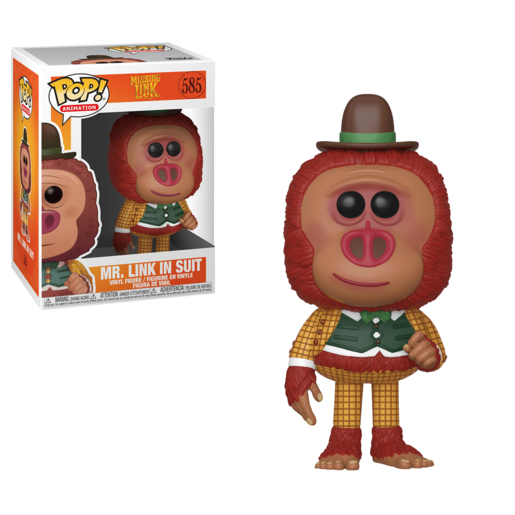 Funko Pop! Animation: Missing Link - Mr Link with Clothes