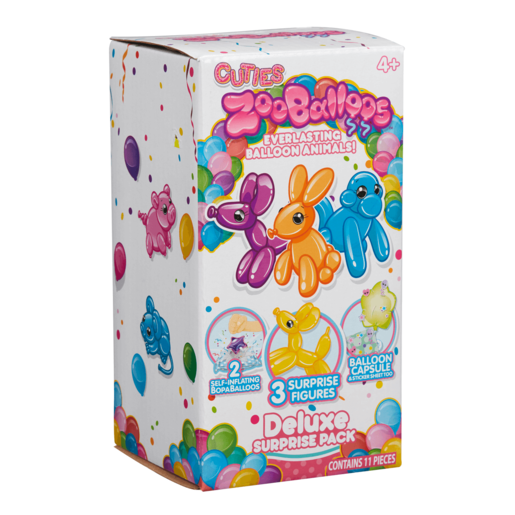 Zooballoos Mega Surprise Deluxe Surprise Pack (Styles Vary)