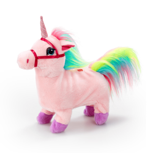Pitter Patter Pets Walking Unicorn - Pink