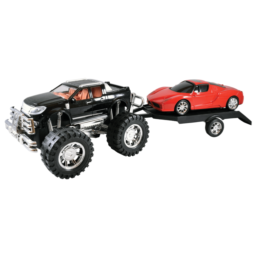 Team Power: Off Roader 4 x 4 Crusher and Trailer