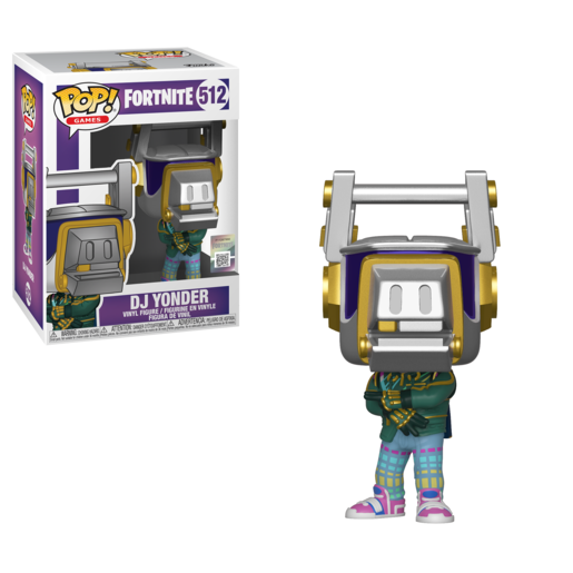 Funko Pop! Games: Fortnite - DJ Yonder