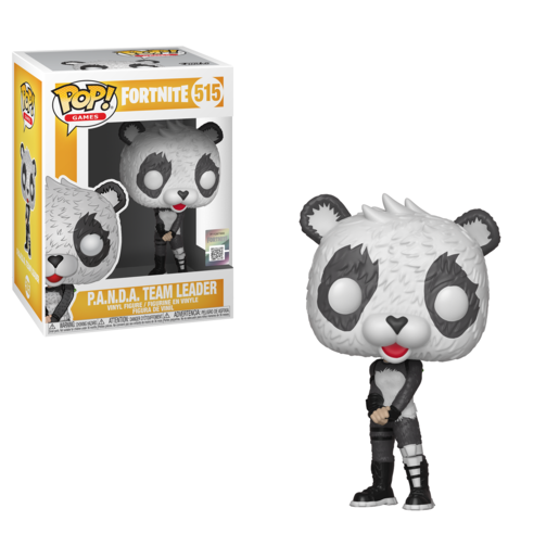 Funko Pop! Games: Fortnite - P.A.N.D.A. Team leader