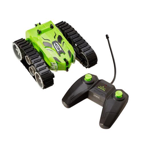 Remote Control Stunt Tank   Green