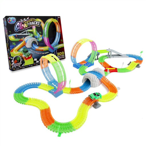 Flexible Glow Tracks 300 Pieces