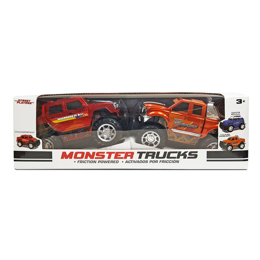 Monster Trucks - Hummer H2 and Ford F-350 Super Duty