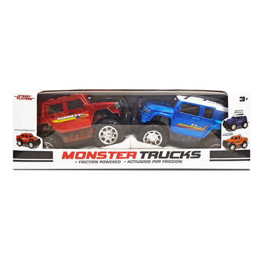 Monster Trucks - Toyota FJ Cruiser and Ford F-350 Super Duty