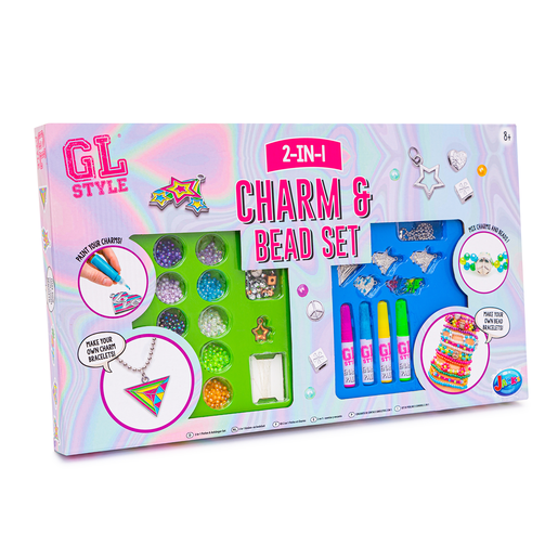GL Style 2-In-1 Charm and Bead Set