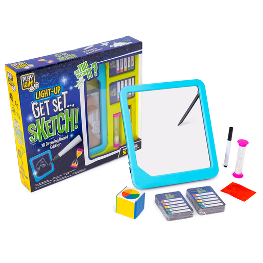 Play & Win Light-Up Get Set Sketch