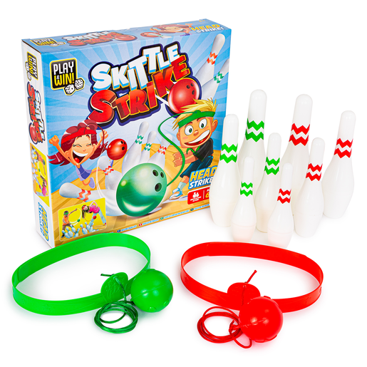 Play and Win Skittle Strike Game
