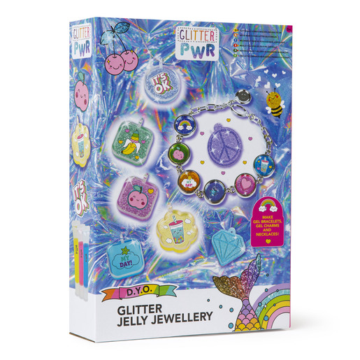 GLITTER PWR - Glitter Jelly Art Jewellery