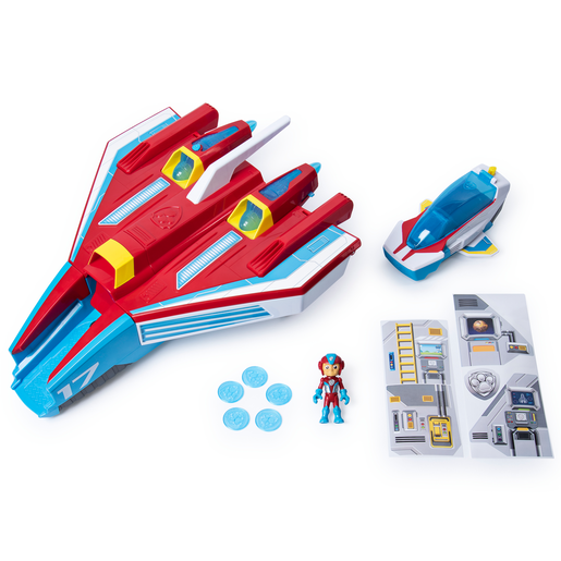 Paw Patrol Mighty Pups Super Paws Mighty Jet Command Centre