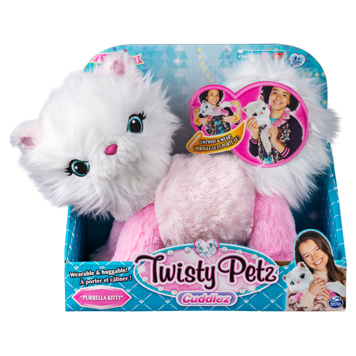 Twisty Petz Cuddlez Plush Toy - Purella Kitty