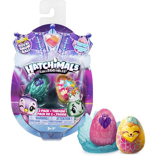 Hatchimals CollEGGtibles The Royal Snow Ball 2 Pack (Styles Vary)