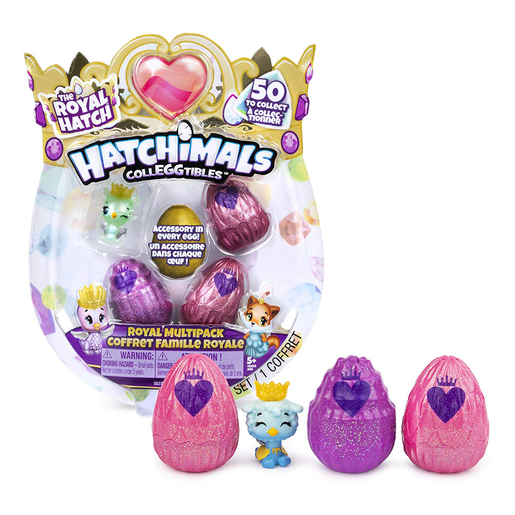 Hatchimals CollEGGtibles The Royal Hatch - Royal Multipack