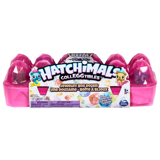 Hatchimals CollEGGtibles Jewellery Box Royal Dozen (Styles Vary)
