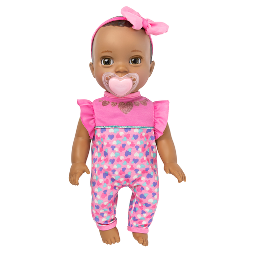 Luvabella Newborn Doll - Dark Brown Hair