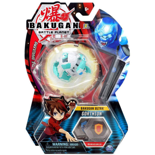 Bakugan 5cm Tall Action Figure and Trading Card - Gorthion