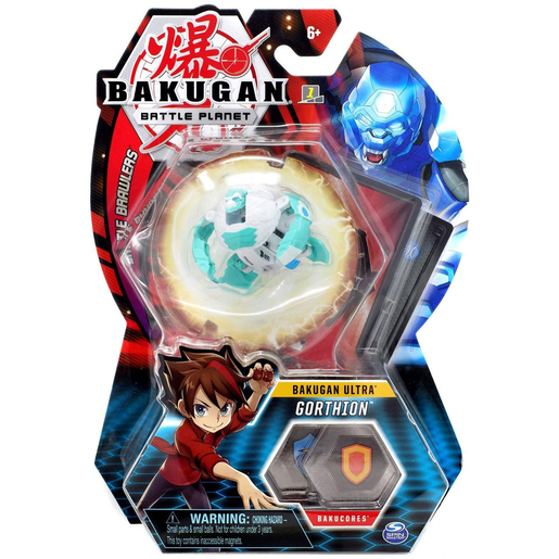 Bakugan 8cm Ultra Action Figure and Trading Card - Gorthion