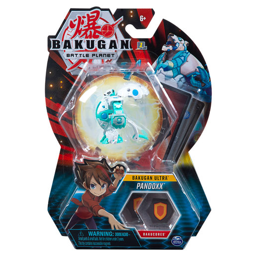 Bakugan 8cm Ultra Action Figure and Trading Card - Pandoxx