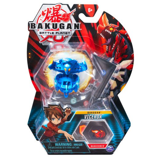 Bakugan 8cm Ultra Action Figure and Trading Card - Vicerox