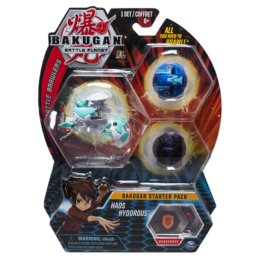 Bakugan Starter 3 Pack Action Figure - Hoas Hydorous