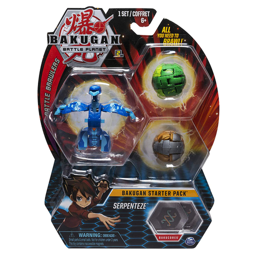 Bakugan Starter 3 Pack Action Figure - Serpenteze