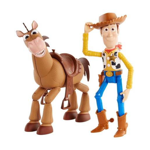 Disney Pixar Toy Story 4 - Woody and Bullseye Adventure Pack
