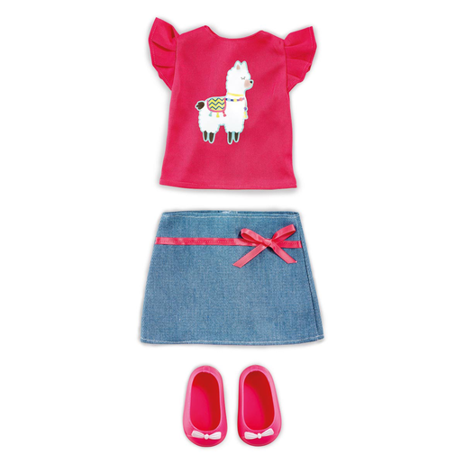 B Friends No Prob-llama Top & Skirt
