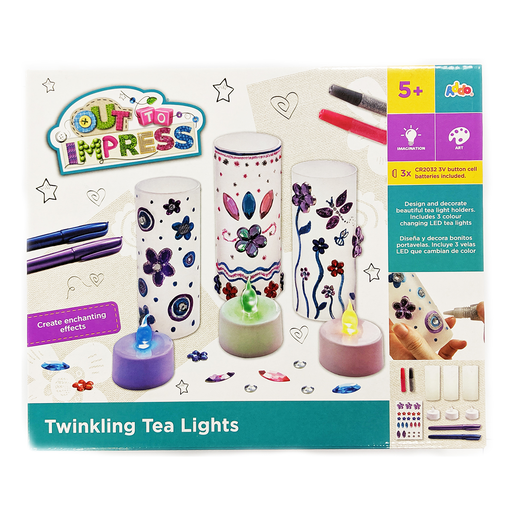 Out to Impress Twinkling Tea Lights
